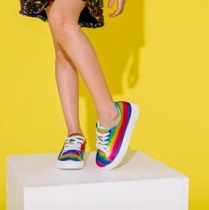 KATY PERRY Rainbow Kitty Baby Shoes Sneakers